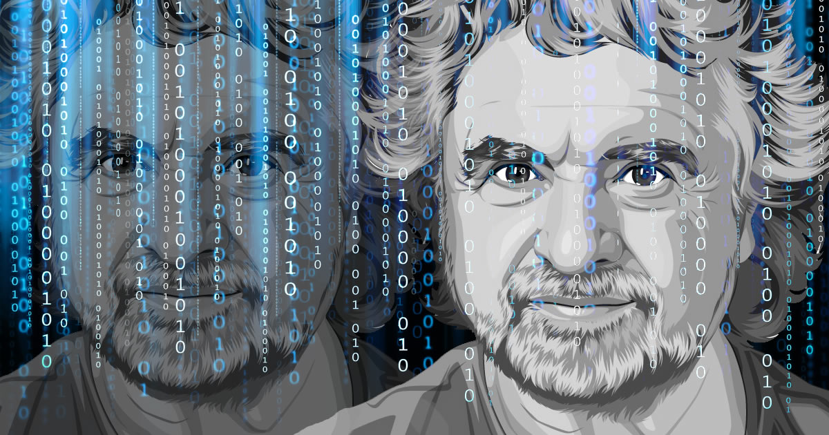 L'intelligenza di Beppe Grillo