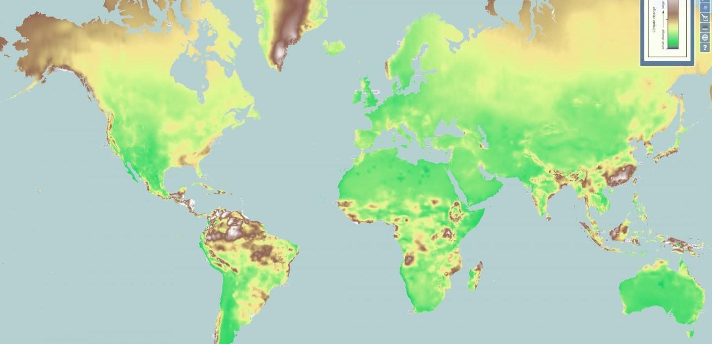 Cartina Mondiale Interattiva.Una Mappa Interattiva Mostra I Cambiamenti Climatici In Tutto Il