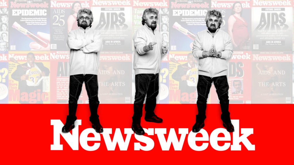 Newsweek intervista Beppe Grillo - M5S notizie m5stelle.com