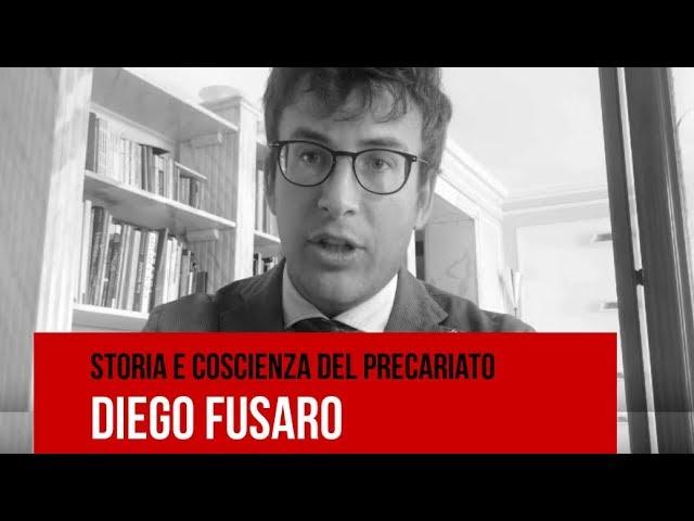 Diego Fusaro: Storia e Coscienza del Precariato - m5stelle.com - notizie m5s
