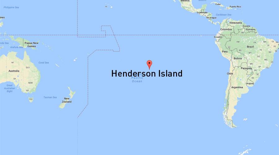 Henderson Island: l'isola paradisiaca ricoperta di plastica - m5stelle.com - notizie m5s