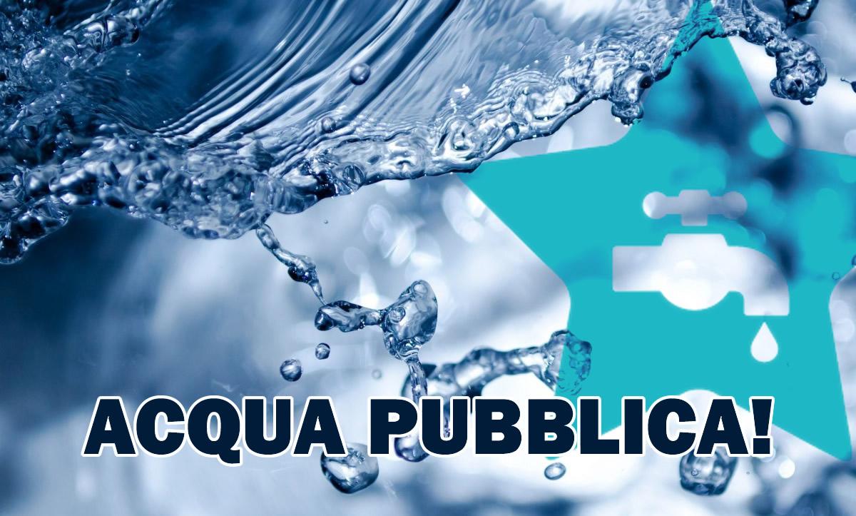 Risultato immagini per acqua pubblica