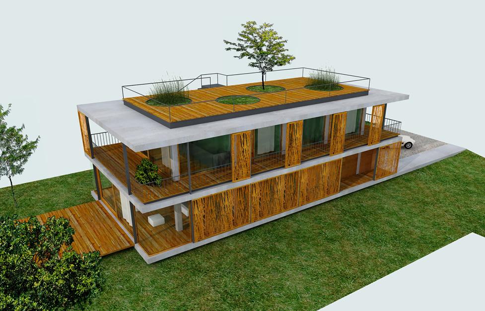 Una Casa Per Tutti Costruire Con Il Bambu Il Blog Di Beppe Grillo